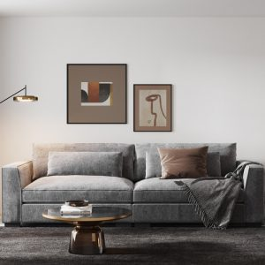 Ostro Anglesea Four Seater Lounge Grey Y37780BBEL43 1880536
