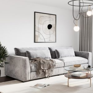 Ostro Anglesea Four Seater Lounge Grey Y37780BBEL43 1880537