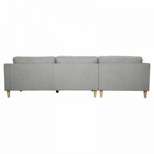 Ostro Esperence Three Seater Left Hand Chaise Lounge Steel U501SALHFCSXSHX 1880256